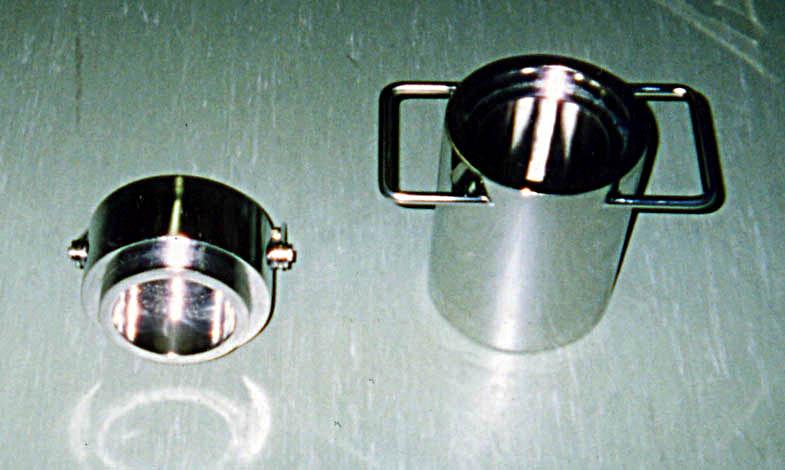 ステンレス鉛容器(取手付)製品