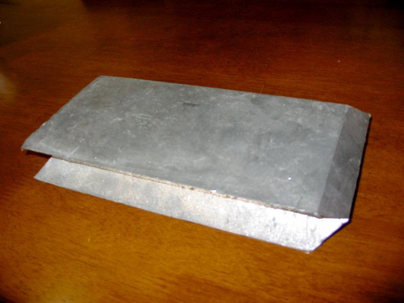 鉛矢型ブロック製品2